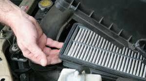 Замена фильтра в кондиционере авто